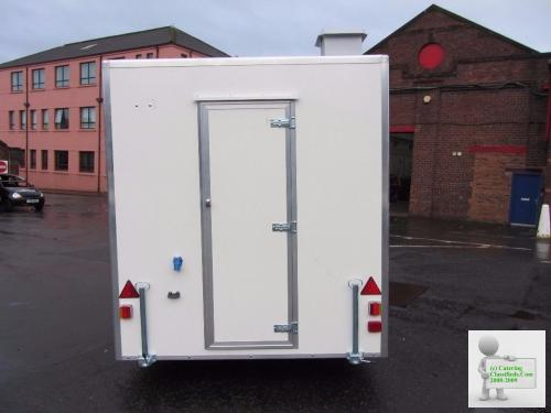 11ft x 7ft Catering Trailer.