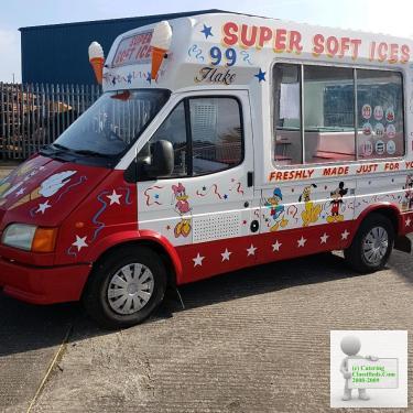 Soft Ice Cream Van for sale