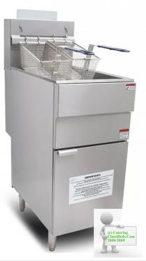 Twin Basket Natural Gas/LPG Fryer