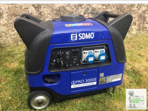Generator/Sdmo I Pro Silent 3kva