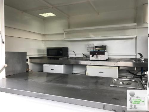 Wilkinson 10x6 catering trailer