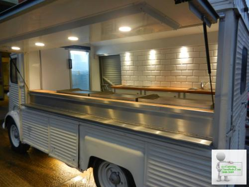 Citroen H van Conversion Mobile Catering Trailer