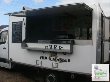 Fish and Griddle van