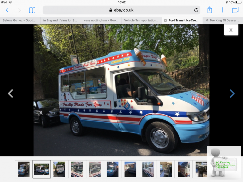 Ice cream van permenant pitch wanted