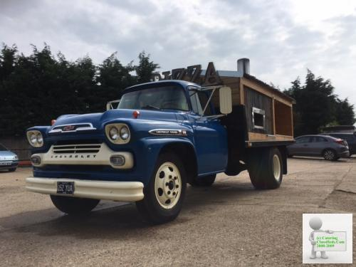 1959 Chevy Viking, Wood Pizza Oven