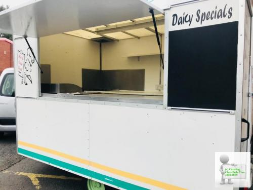 Catering trailer 10x6