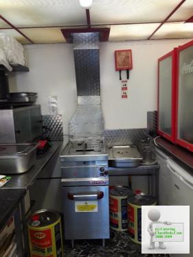 Burger Van / Catering Trailer 18ft x 7ft