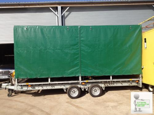 Iconic High Output Festival Catering Trailer For Sale