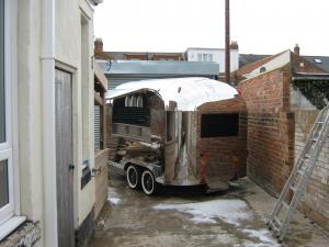 For sale 2 immediately available brand new Airstream style Gin and Prosecco hospitality trailers