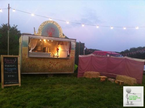 Beautiful catering trailer for street food, festivals,events
