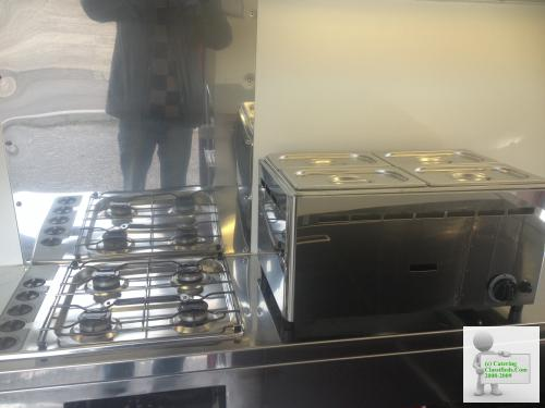 Catering Mobile Kitchen Hot Dog Burger Food Van Trailer LPG Hob Grill 20k miles, Free Rd Tax, Ready to Trade