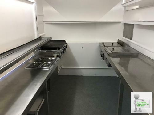 12 X 7 Wilkinson Catering Trailer