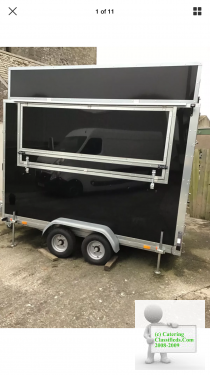 Brand new 2018 Catering Trailer