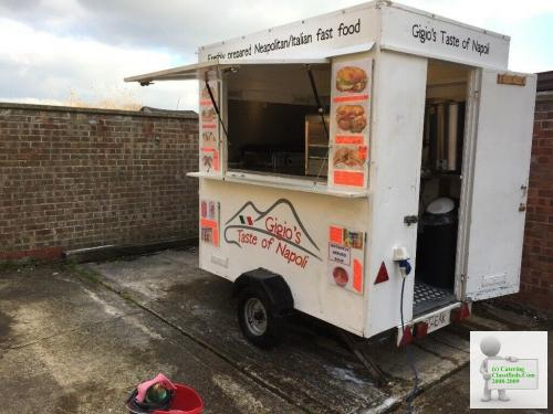 Small catering Trailer