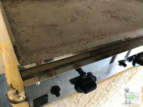 LPG Hotplate Griddle