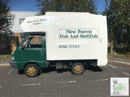 Fish Van for sale