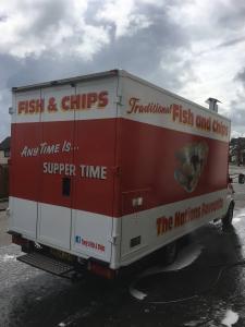 Fish & chip van