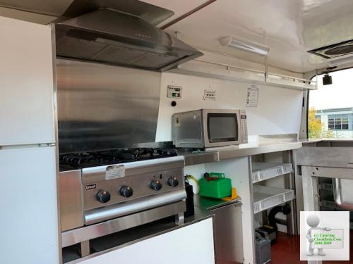 54 Reg Ford transit 350 LWB 22,500 miles catering van.