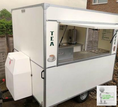 Immaculate catering van