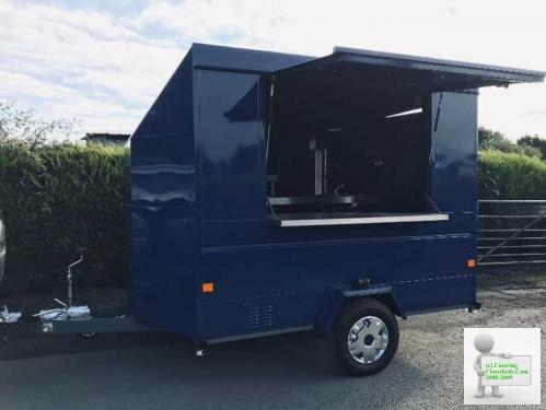 Coffee catering trailer