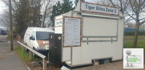 Catering trailer and pitch