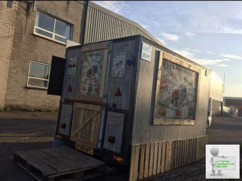 10ft mobile catering trailer