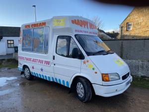 1999 Ford Transit Whippy Ice Cream Van SWB