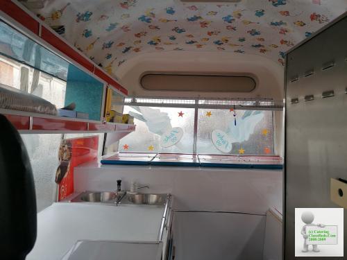 Mercedes Benz ice cream van