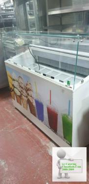 7 pans icecream freezer