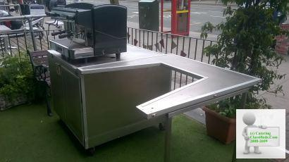 COMPLETE COFFEE BUSINESS STAND FOR SALE