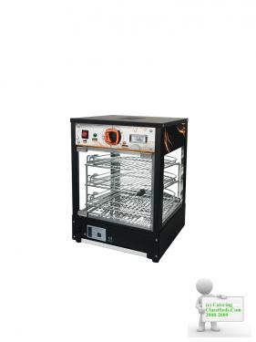 Tansik NEW COMMERCIAL HOT FOOD PIE WARMER DISPLAY BV-8034