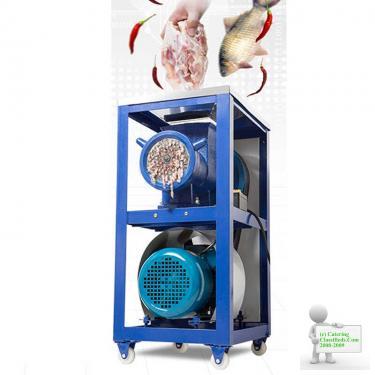 MULTIFUNCTION ELECTRIC CHICKEN FISH MEAT BONE GRINDER CRUSHING MACHINE DUCK RACK CRUSHER SHREDDER FOR TORTOISE FEED 42SIZE