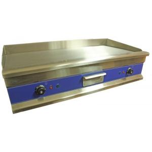 COMMERCIAL STAINLESS STEEL ELECTRIC GRIDDLE 100CM FLAT WITH NORMAL UK PLUG