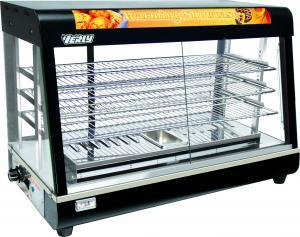 HEAVY DUTY ELECTRIC SHOWCASE FOOD CHICKEN WARMER DISPLAY WATER BASE
