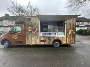 Vauxhall Movano Food Truck