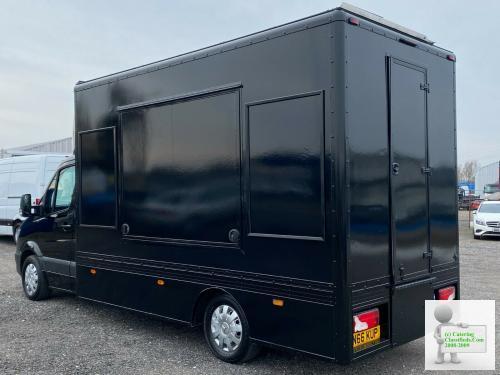 2016 (66) Mercedes-Benz Sprinter 313 Mobile Catering Unit Burger Van Top Spec