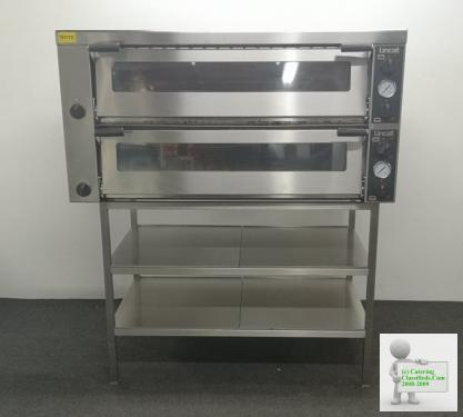PAY OVER 4 MONTHS or STRAIGHT SALE DISCOUNT!Lincat 6 x 6 Stone Decked Elec Pizza Oven On SS Stand