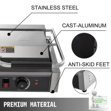 ELECTRIC GRILL COMMERCIAL PANINI MAKER GRILL TANSIK CATERING