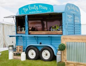 Vintage Horsebox Bar and Accessories