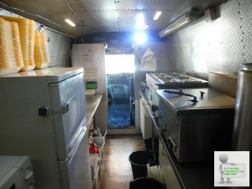 Catering Van and Pitch available