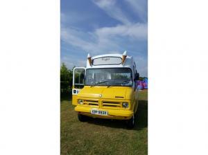 Cute Classic Ice Cream Van - 1980 Bedford CF