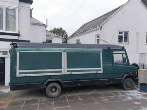 Mobile Catering Food Truck Van Fully Equipped Street Food Kitchen Lwb High Top