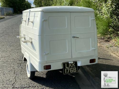 1966 Vintage Piaggio Vespa Ape AD1 Rare Van Mobile Prosecco Bar Business Hire