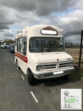 Bedford CF classic vintage ice cream van