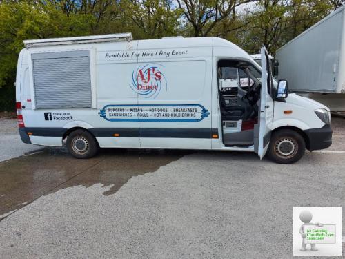Burger van for sale. Converted Mercedes-Benz Sprinter. Brand New custom Built
