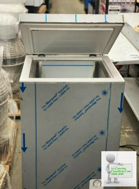 Commercial Chips Storage Deep Freezer