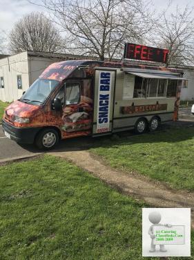 Mobile catering van