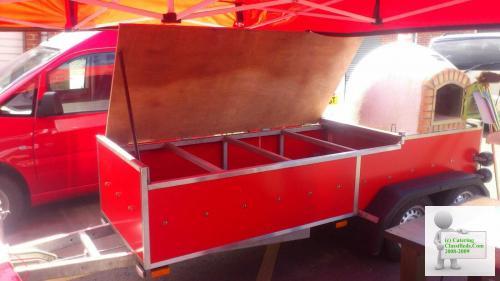 Pizza Brick Oven trailer