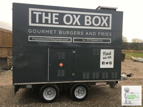 used catering trailer burger van