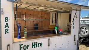 Mobile bar catering trailer